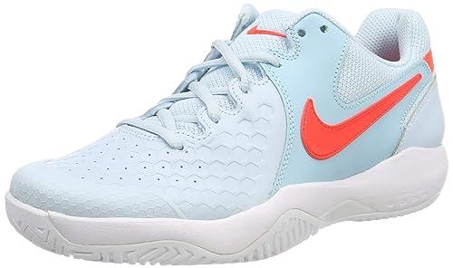 innovative design 8be52 26c5b Nike Women s WMNS Air Zoom Resistance Topaz Mist BRT Crimsn-Blu Tennis Shoes -