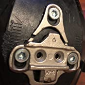 NEW Xpedo XPR Adapter Cleat Set 3-hole mounting to 2-hole SPD Shimano Compatible