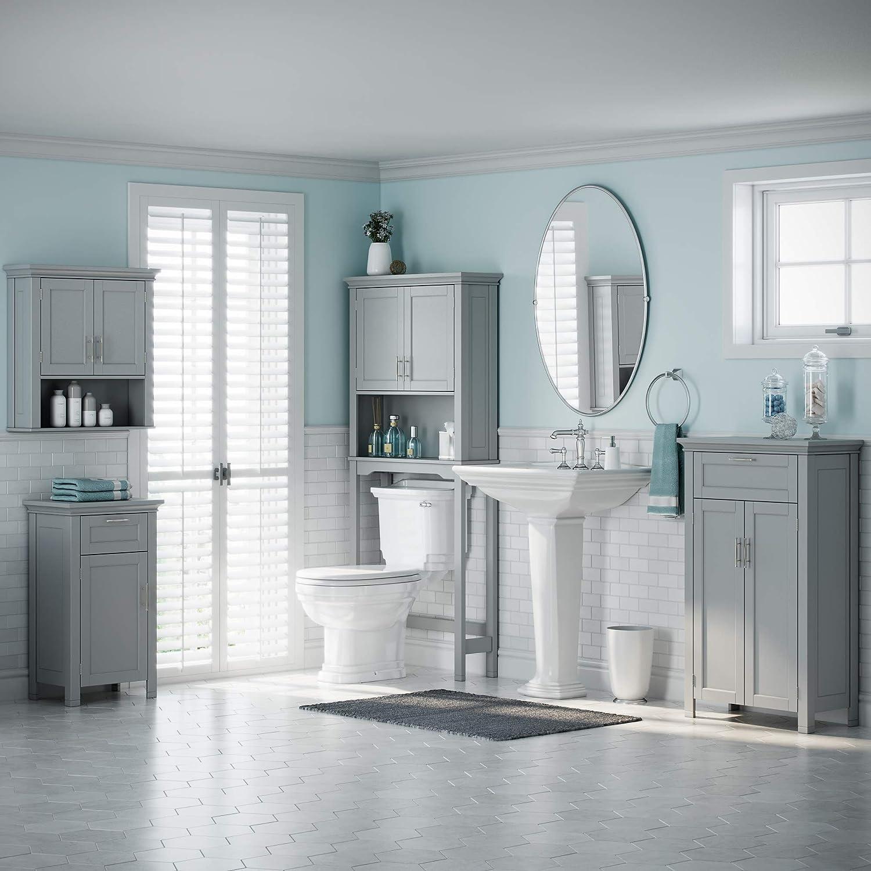 Amazon.com: RiverRidge Somerset Collection Single Door Floor Cabinet ...