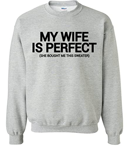 Perfect Christmas Gift For Wife.Amazon Com Funny Sweater Christmas Gift For Husband From