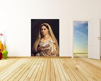 Raffael Alte Meister La Donna Velata Kunstdruck