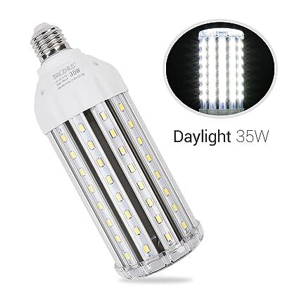 E27 35W Bombilla LED Luz Fría 6500K - LED Alta Luminosidad Lampara LED Ángulo de Haz