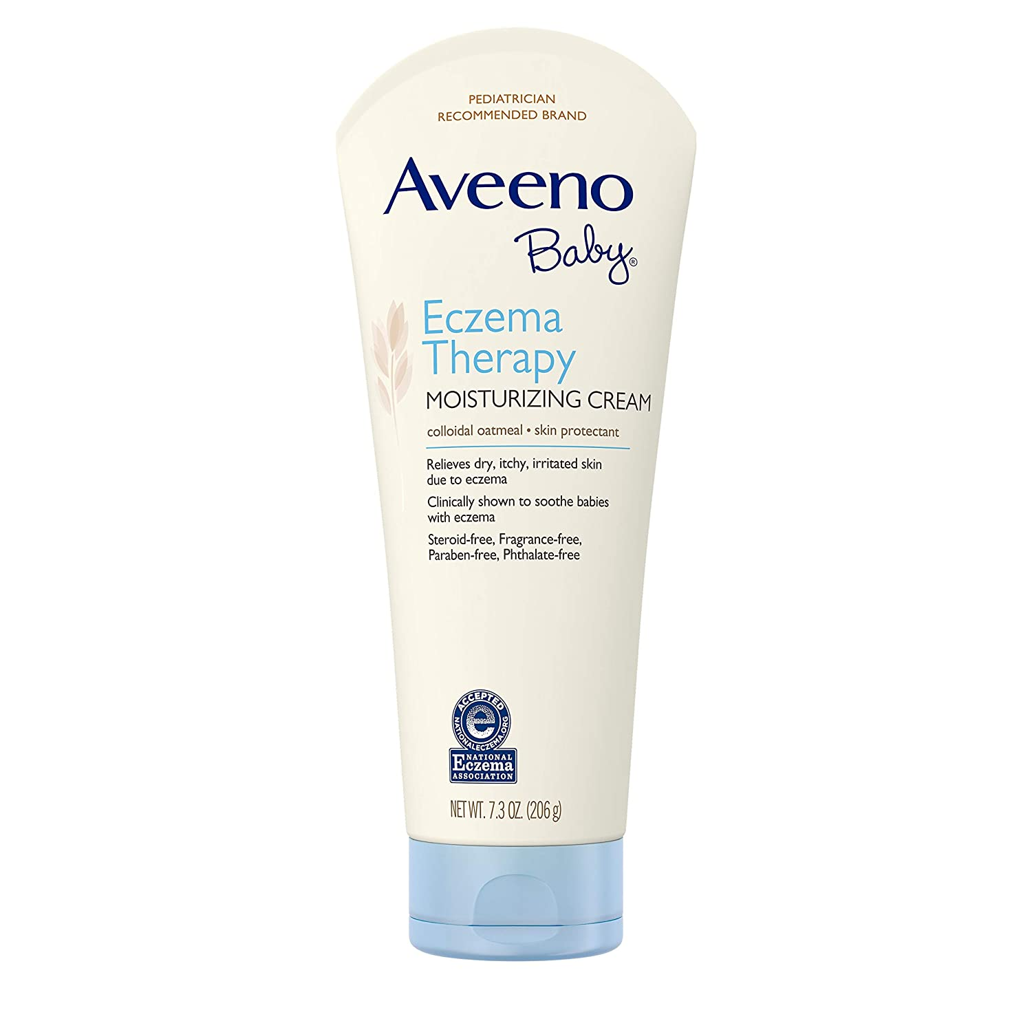 Diapering 3x Aveeno Baby Moisturizing Cream Daily Care With Oat Colloidal Moisturizes