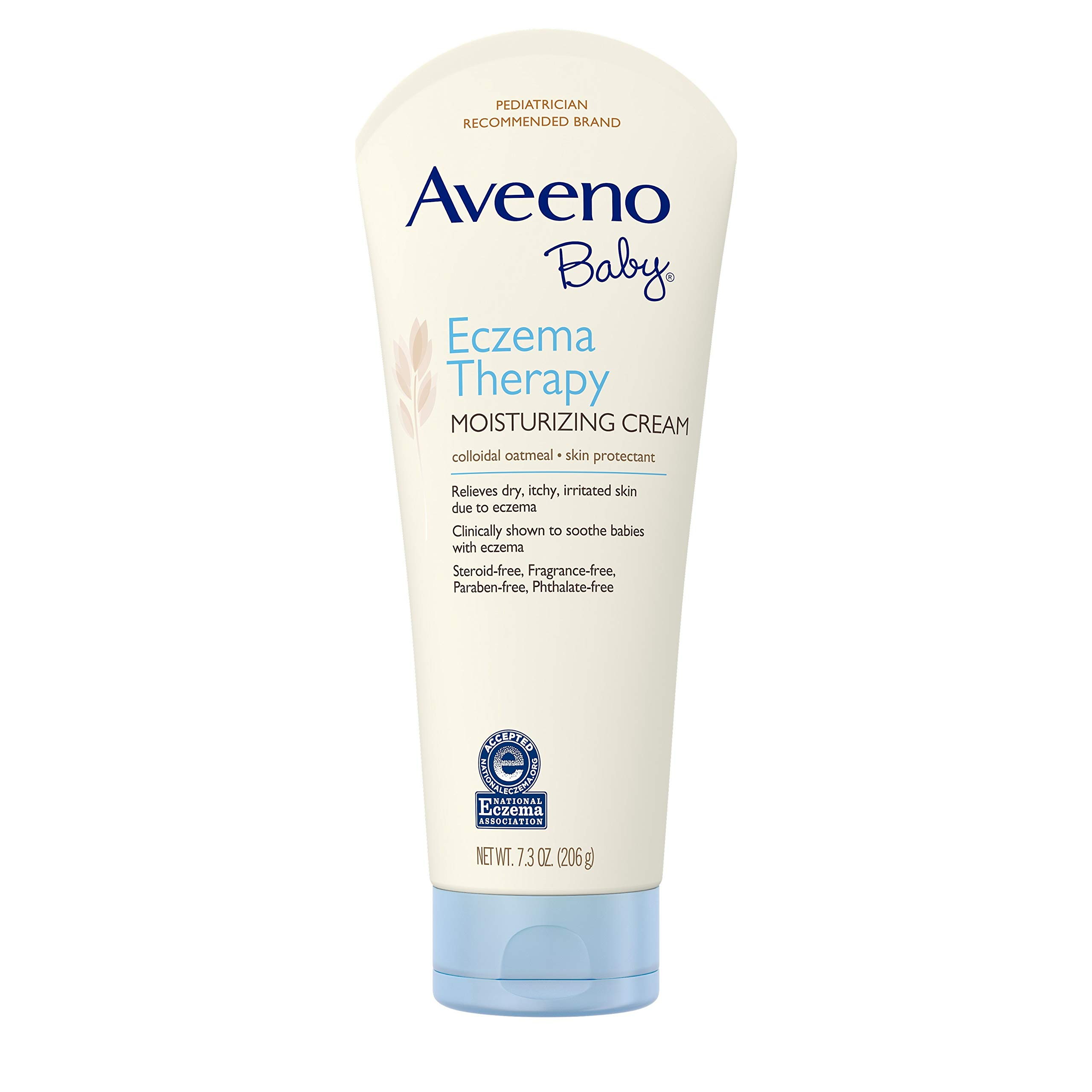 Aveeno Baby Eczema Therapy Moisturizing Cream with Natural Colloidal Oatmeal for Eczema Relief, 7.3 oz by Aveeno