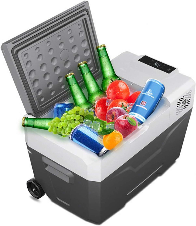 Details about  / 28 Quart Portable Electric Iceless Car Cooler Mini Beverage Refrigerator Silver