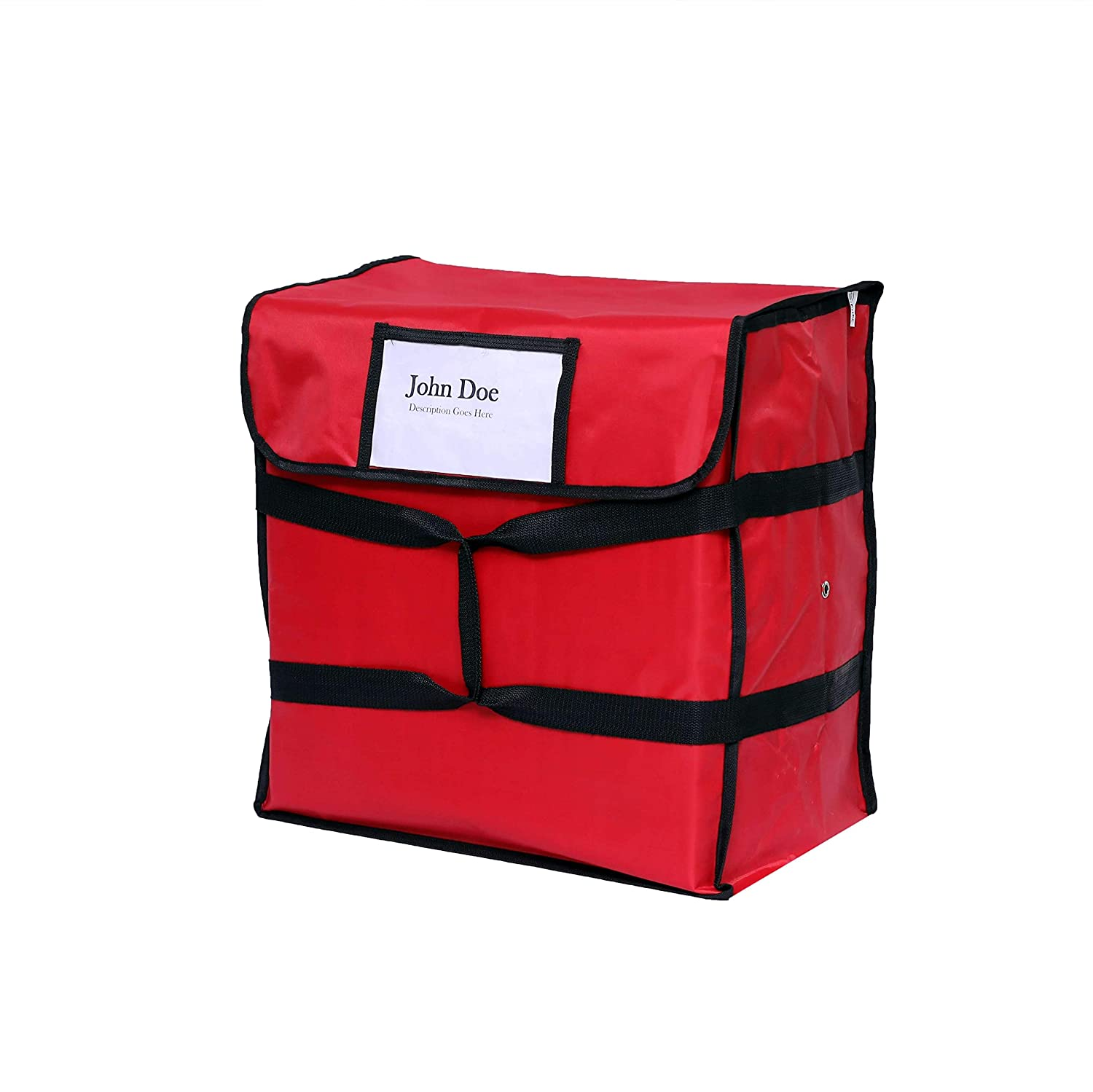 """5 x HEAVY DUTY PIZZA DELIVERY BAG Full Insulated fit 20/"""" Box Size 20/""""x 20/""""x 8/"""""""