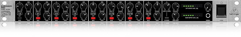 Behringer RX1602 Professional Multi-Purpose 16-Input Ultra-Low ...