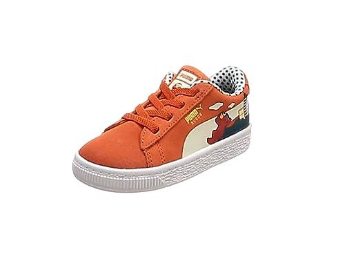 Puma Sesame STR 50 Suede Inf, Sneakers Basses Mixte bébé