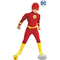 Rubie's DC Comics Deluxe Muscle Chest The Flash Child's Costume (Large)