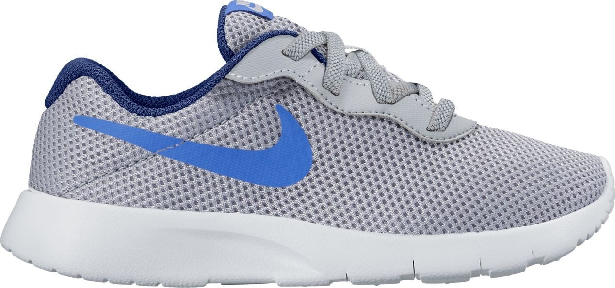 Nike Nike Tanjun (Ps) - wolf grau comet Blau-binary bl, Größe   11.5C