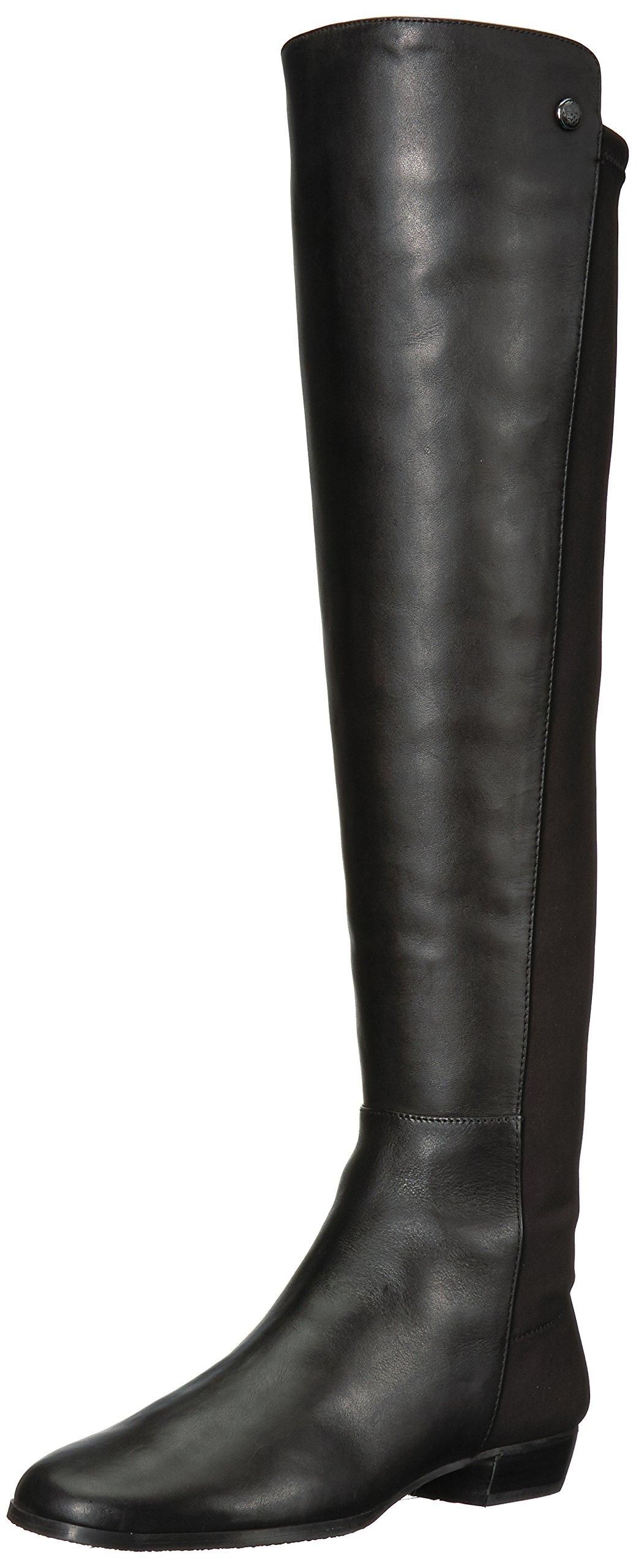 Vince Camuto Women's Karita Over The Knee Boot, Black, 6.5 Medium US
