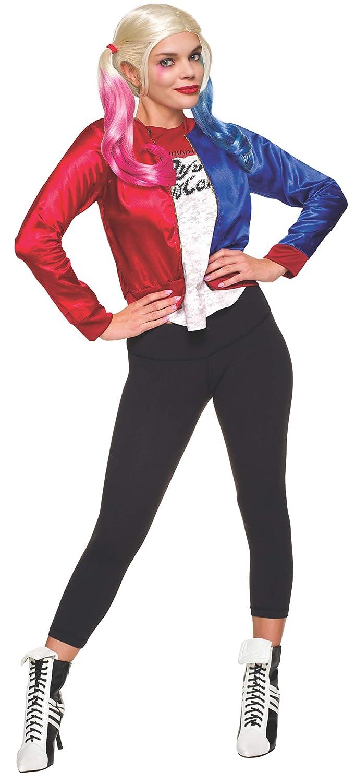 Rubies Disfraz del escuadrón suicida, personaje de Harley Quinn, Joker (tamaño mediano), oficial