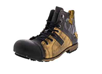 wholesale dealer cbe23 dc464 Yellow Cab Men's Industrial M Biker Boots