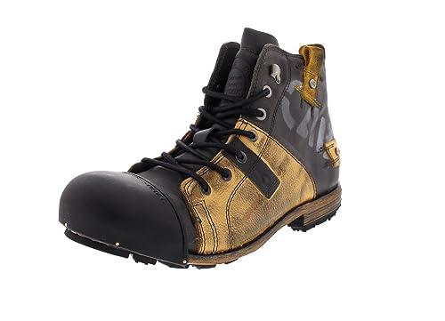 wholesale dealer 8f5c7 35edd Yellow Cab Men's Industrial M Biker Boots