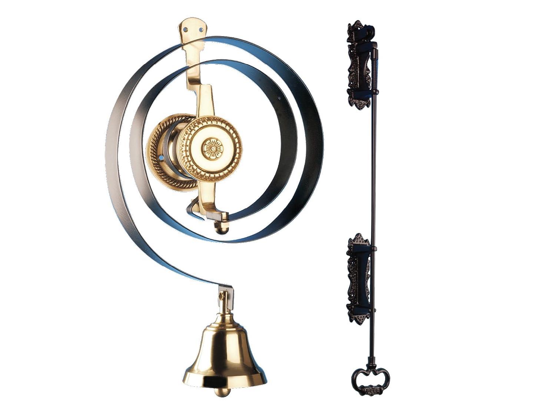 Byron - Timbre mecá nico con campana y tirador de hierro BYR62500K