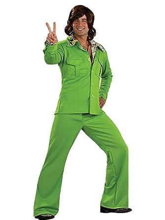 Amazon.com: Verde lima liesure disfraz de traje para hombre ...