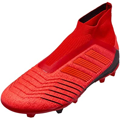 f1f4c550a Image Unavailable. Image not available for. Color: adidas Junior Predator 19+  FG Cleats (Active Red/Solar Red/Core Black