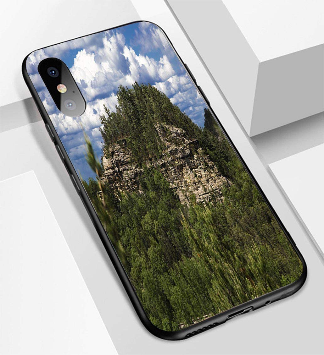 purchase cheap 4583e 00976 Amazon.com: iPhone X/XS Ultra-Thin Glass Back Phone case,Target ...