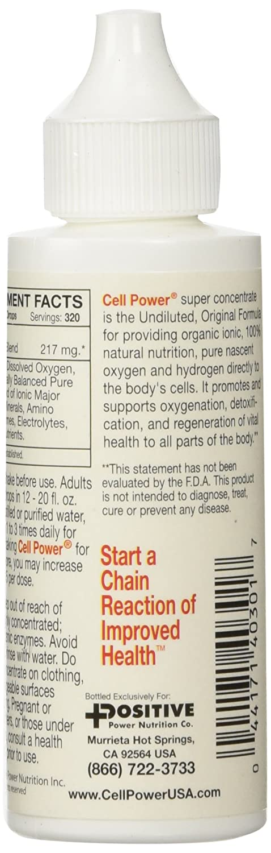 Amazoncom Positive Power Nutritionals Cell Power 2 Fluid Ounces