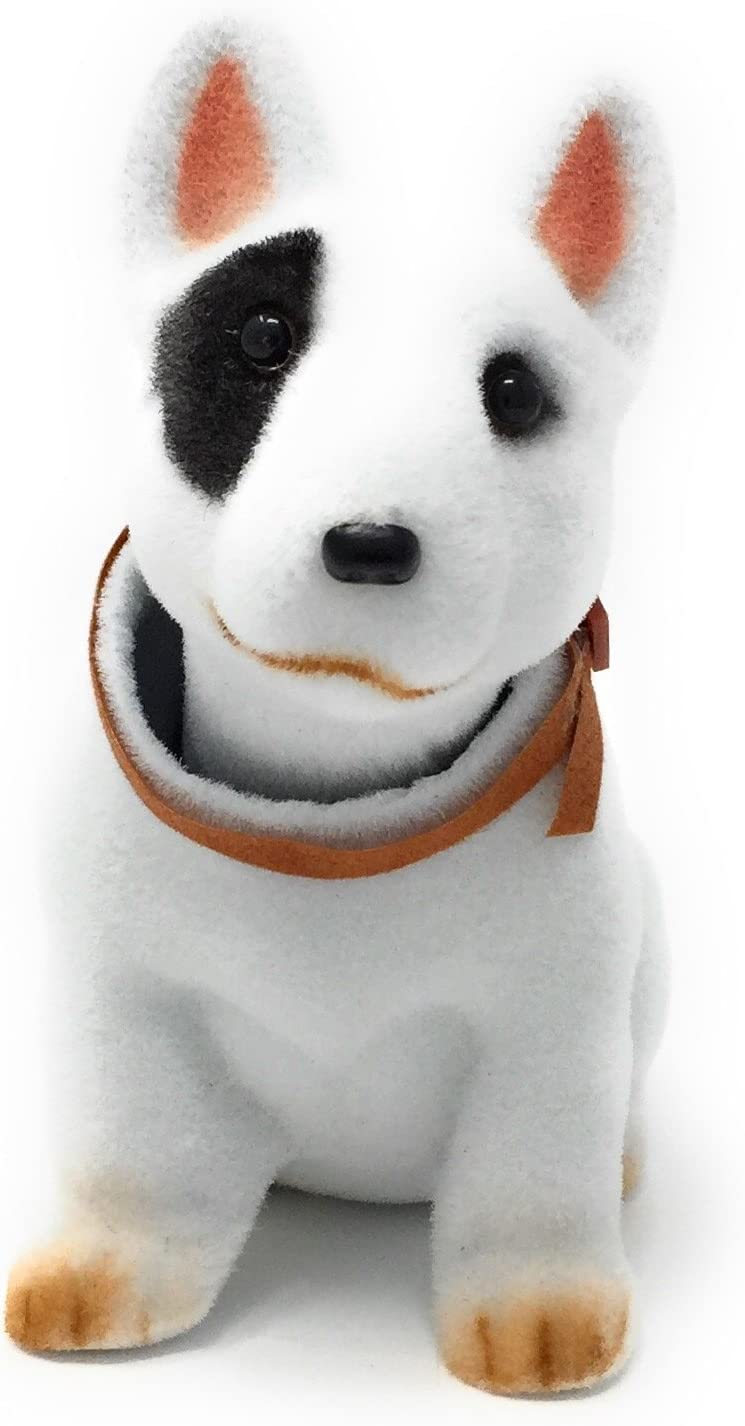 Bobble Head Bull Terrier Noveltees Company Bobbing Head Dog