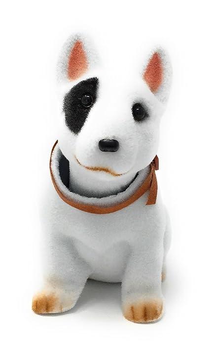 Amazon.com: Noveltees Company Bobbing Head Dog, Bobble Head Bull ...