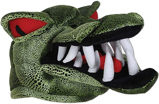 Amazon.com  Adult Size Alligator Gator Head Hat (1)  Clothing 5d565fba0fec