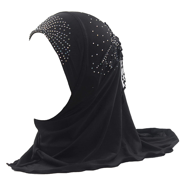Amazon com girls kids muslim hijab islamic arab scarf shawls water soluble decals clothing