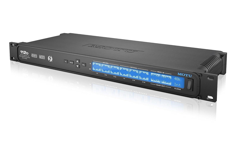 MOTU 112D 112イン112アウト Thunderbolt / USB2 オーディオインターフェイス MADI/AES/EBU/ADATコンバーター   B00TZQ1Y00
