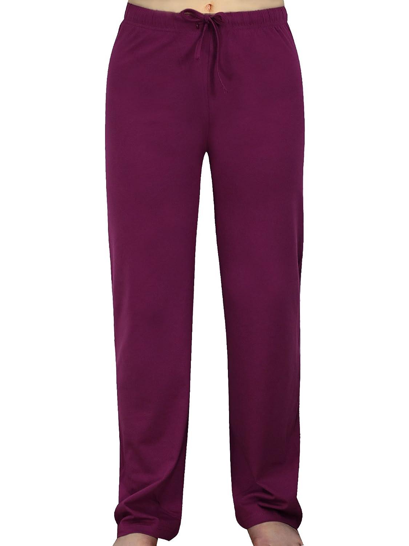 Kissage Women Pajama Pants Lounge Cotton Pant SOFE sleepwer Casual Long Bottoms
