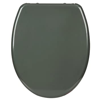 Magnificent Woltu Toilet Seat Soft Close Lid Cover Quick Release With One Button Wc Seat Dark Grey Anti Bacterial For Bathroom Dual Fittings System Unemploymentrelief Wooden Chair Designs For Living Room Unemploymentrelieforg