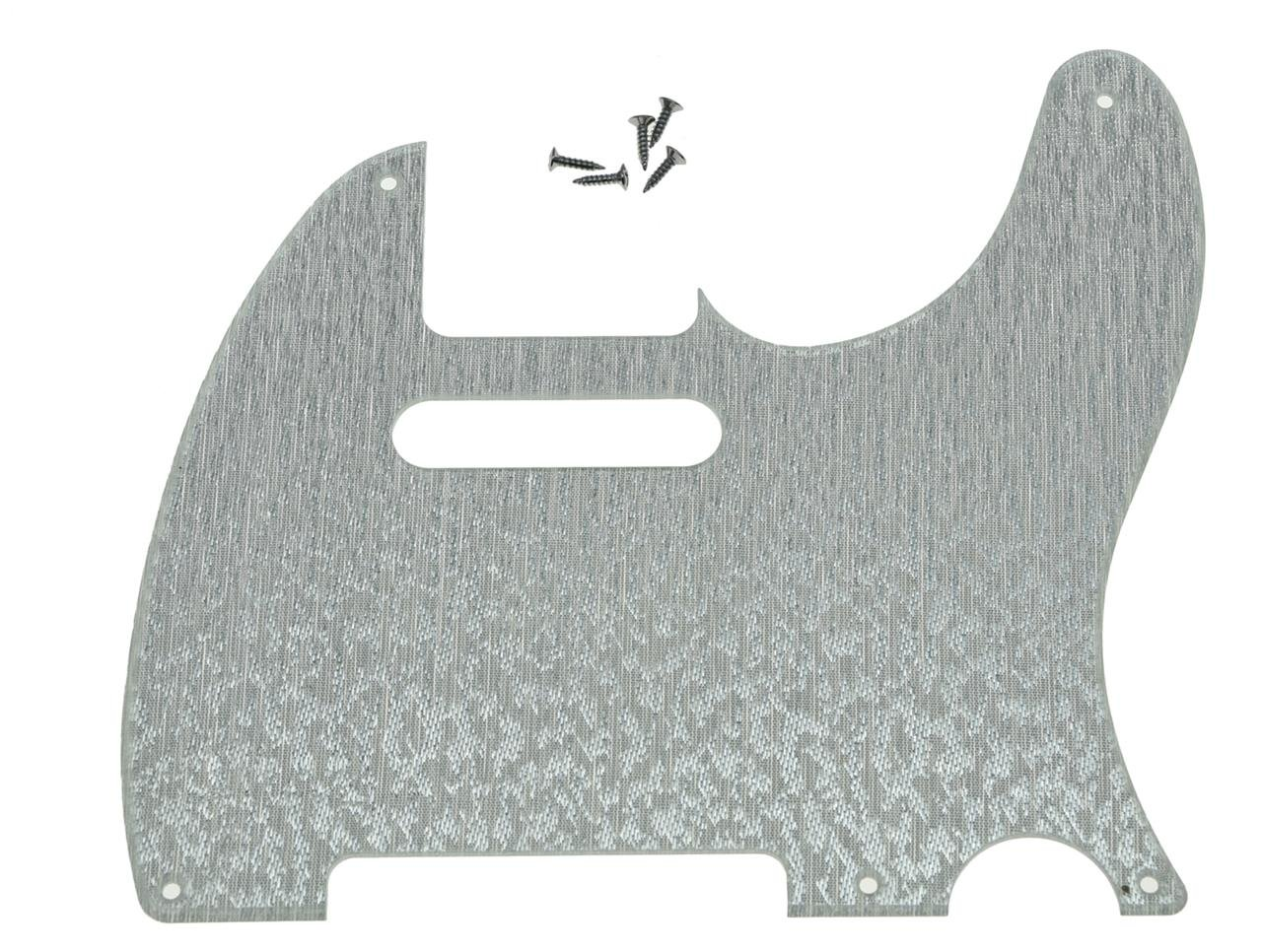 KAISH 5 Hole Vintage Tele Guitar Pickguard Scratch Plate fits USA//Mexican Fender Telecaster Glossy Black 1 Ply