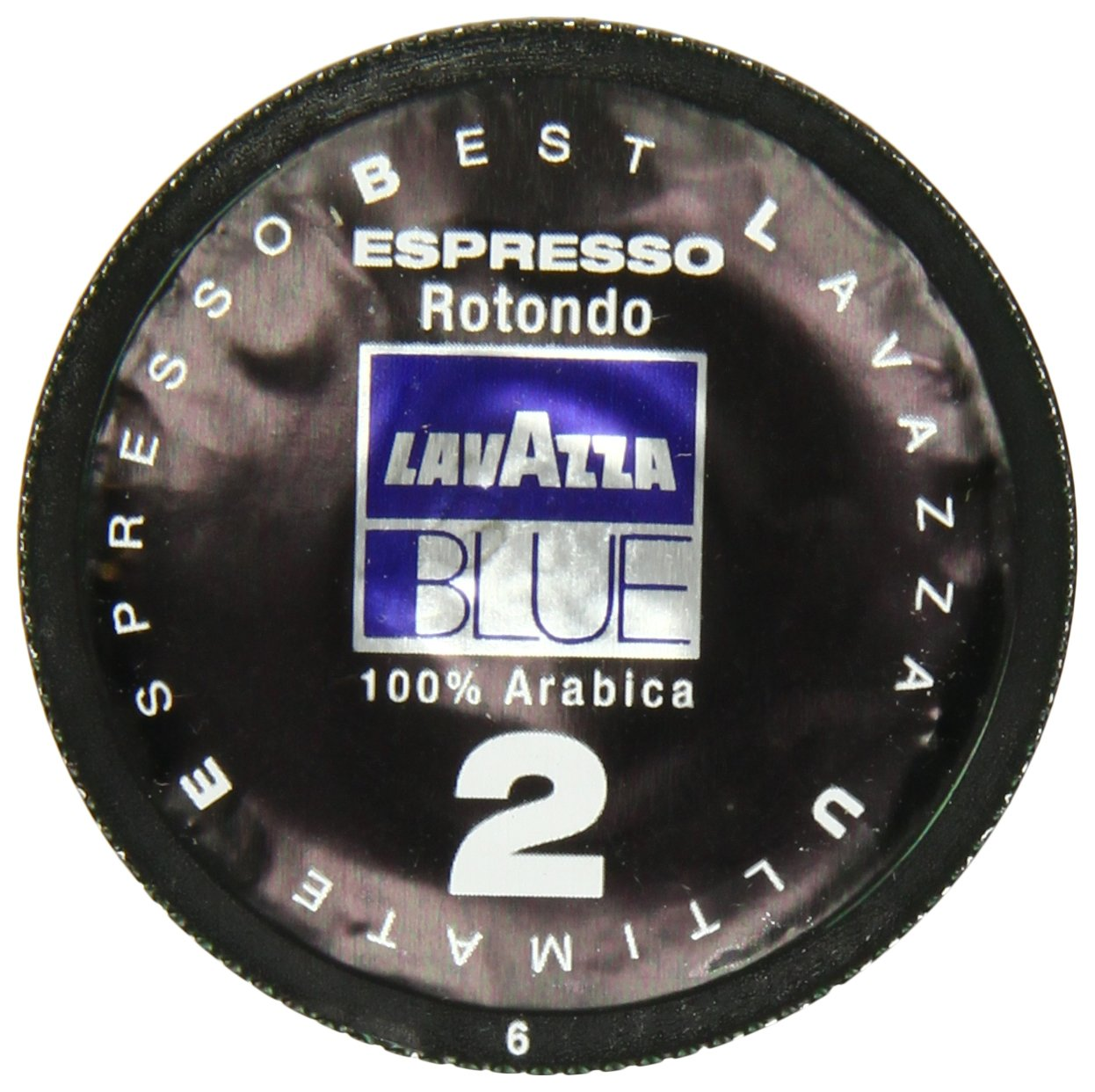 Lavazza BLUE Capsules, Espresso Rotondo 2 Coffee Blend, Dark Roast, 28.2-Ounce Boxes (Pack of 100) by Lavazza (Image #1)