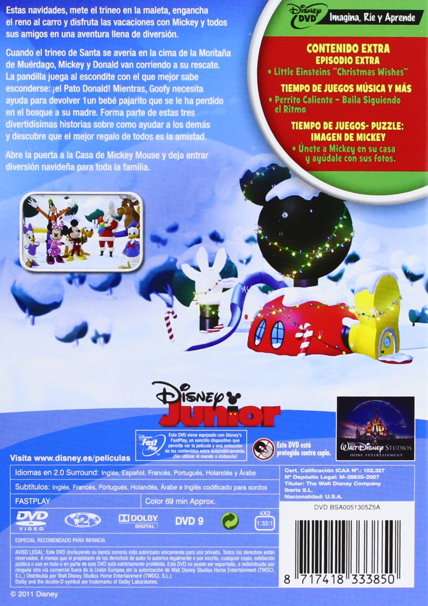 Amazon.com: Casa MM 2: Mickey Salva A Santa (Import Movie) (European Format - Zone 2) (2011) Varios: Movies & TV