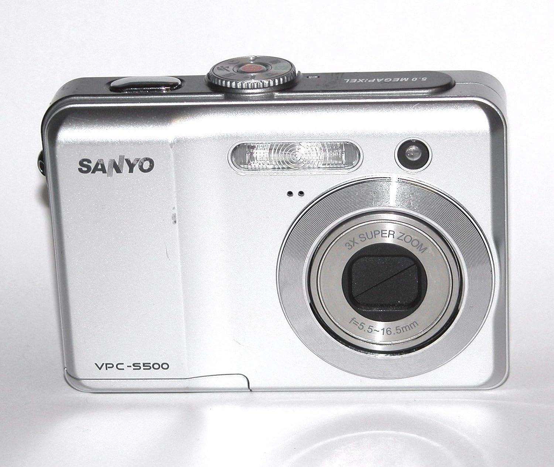 サンヨー S500 5.0 MP デジタルカメラ シルバー   B0060IFR4U