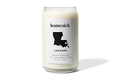 Homesick Scented Candle, Louisiana by Homesick