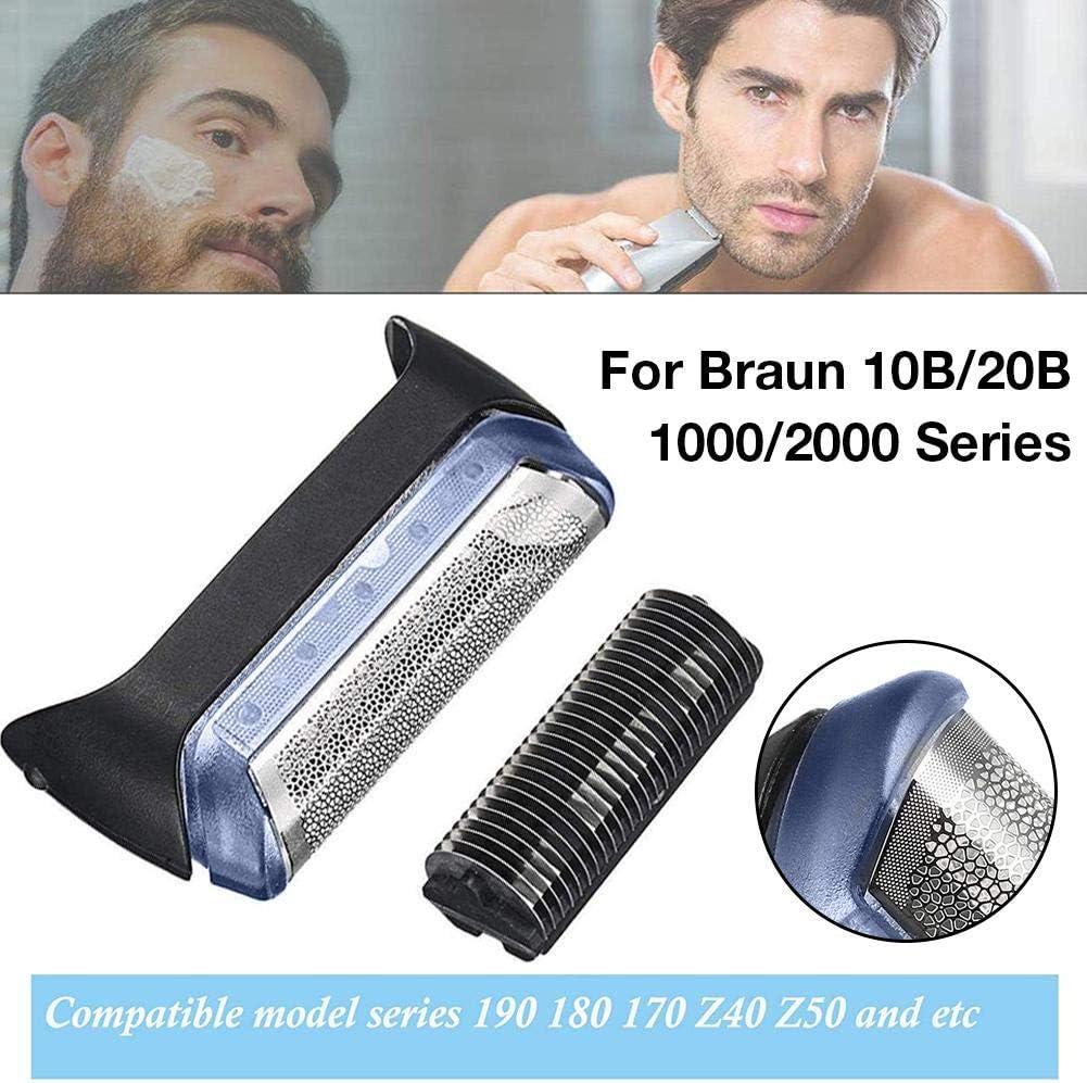 foyar Recambio Y Repuesto para Afeitadora Eléctrica Compatible con Braun Serie 10B / 20B 1000/2000 Pieza De Repuesto para Braun 190 1735 1775 5728 5729 170S: Amazon.es: Hogar