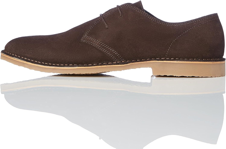 TALLA 39 EU. find. Amz132 - Zapatos de Cordones Derby Hombre