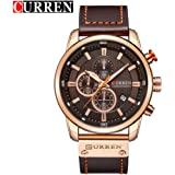 Curren 8291 Luxury Men Leather Band Strap Wrist Watch High Class Men Male Mechanical Relogio Masculino Watch Gift
