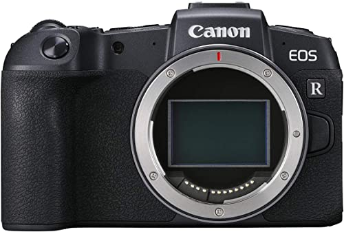 Canon EOS RP Mirrorless Camera Body, Black - 3380C002