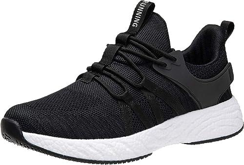 Mens Memory Foam Mesh Casual Walking Running Gym Sport Slip On Trainers Shoes UK