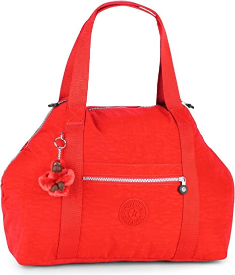 Kipling K0136210P Bolso Weekend, Color Rojo (Art M Cardinal)