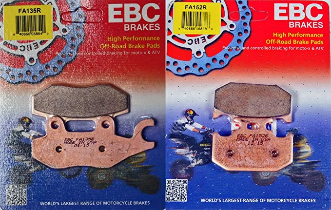 EBC Brake Pad Sintered Metal R Series FA135R