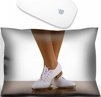 952ec0ad Amazon.com : Luxlady Mouse Wrist Rest Office Decor Wrist Supporter Pillow Tap  top Clog dancer in clogging shoes on white. IMAGE: 2480929 : Office Products