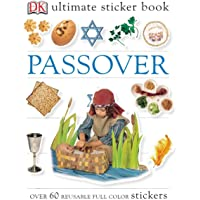 Ultimate Sticker Book: Passover: Over 60 Reusable Full-Color Stickers