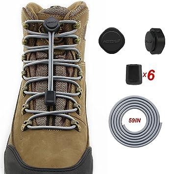 Homar Para De Pares 2 Trabajo Zapatos Elástico Cordones v18nwRx