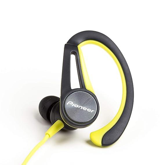 Pioneer E5T de y auriculares deportivos con 7 horas de tiempo de ...