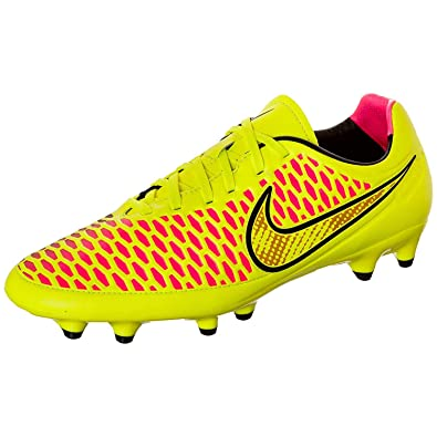 c22b03672374 Nike Magista Orden FG Soccer Cleats (Volt Gold Black Hyper Punch) (9 ...