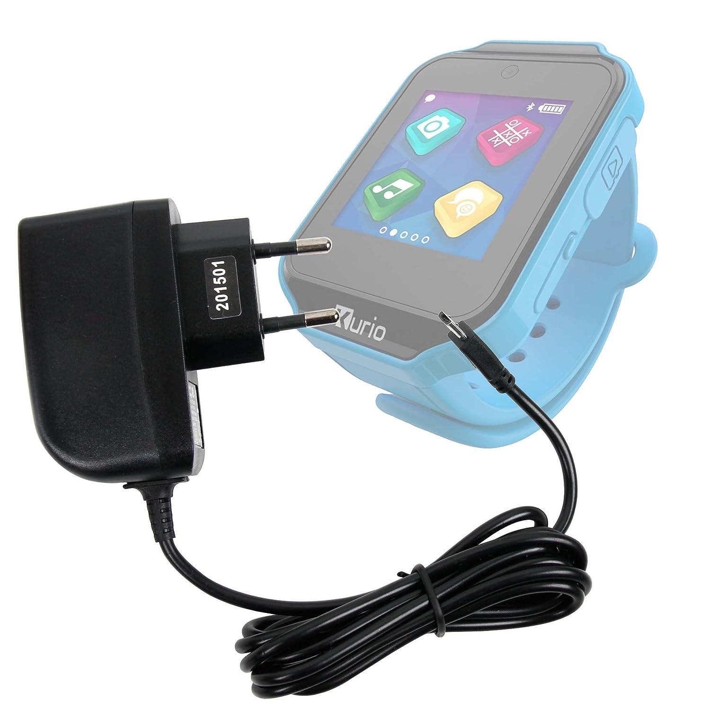 Duragadget Chargeur Secteur Filaire pour Gulli Watch/Kurio Watch Montre connectée sans Fil (172557 et 172556): Amazon.fr: High-tech