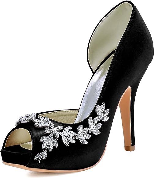 Heels Peep Toe Wedding Shoes