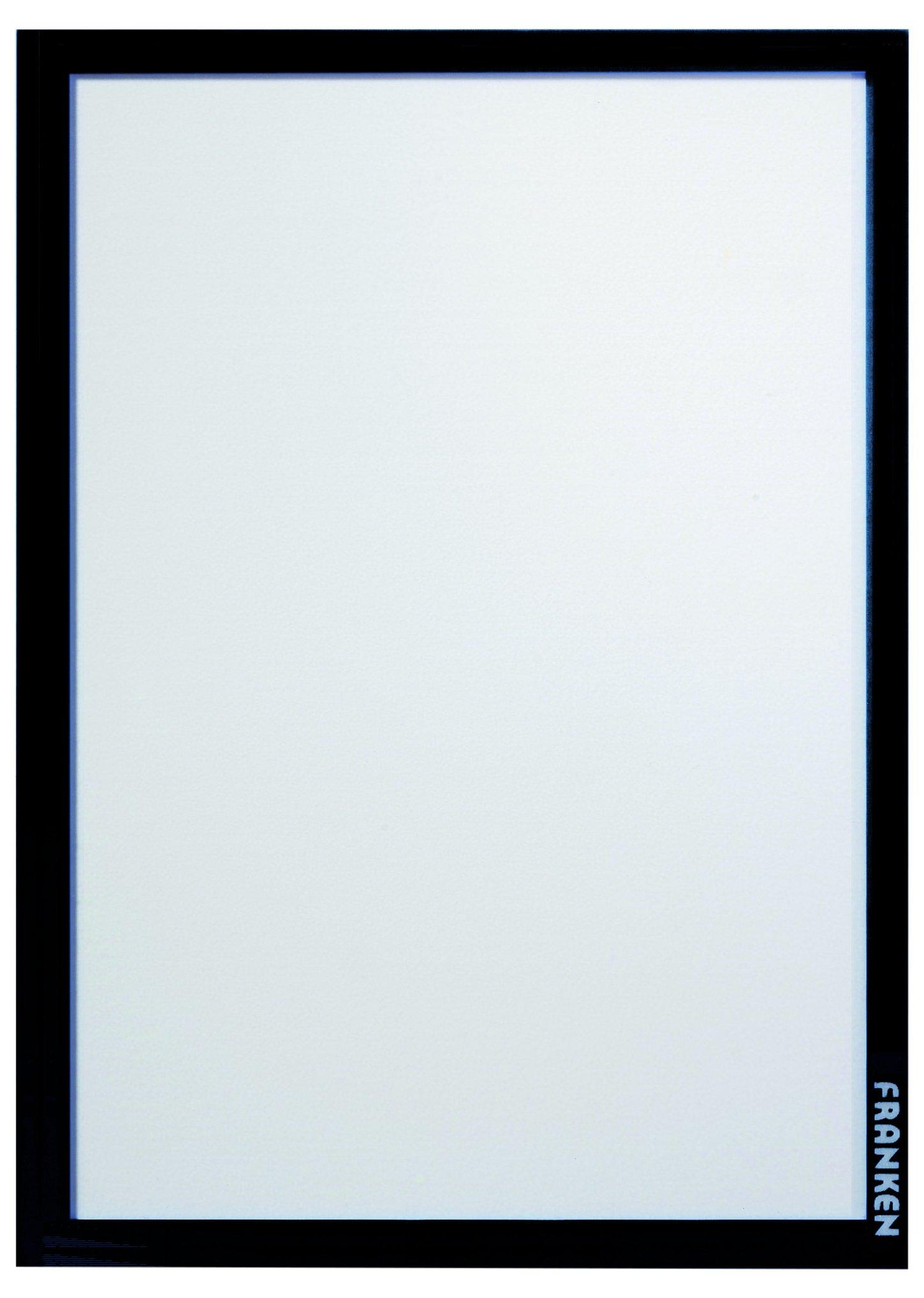 Franc AR14102 Window Display Frame It Pro, DIN A4, Hard Slide, Strength: 1.82 mm, Matt, Black
